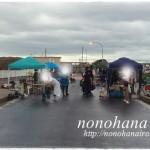 大磯市の出店は強風と雨の影響により取り止めになりました。nonohana色