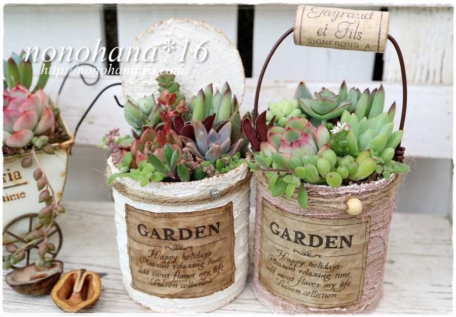 ピンクルルビー&花うらら 寄せ植え